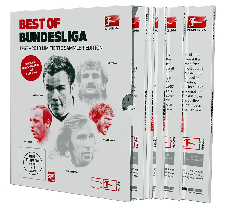 50 Jahre Bundesliga – Best of Bundesliga 1963-2013: Offizielle Limitierte Sammler-Edition (7-DVD-Box)