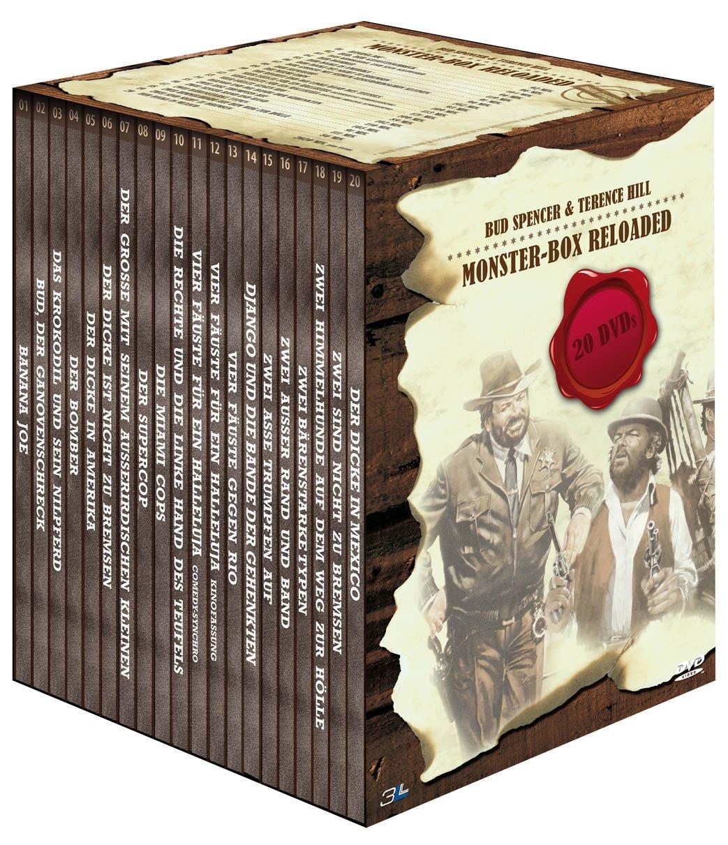 Bud Spencer & Terence Hill – Monster-Box Reloaded [20 DVDs]