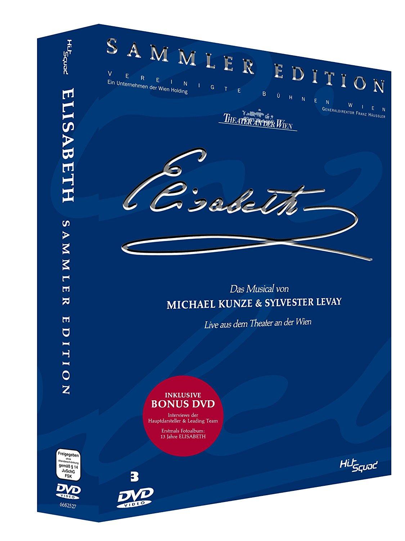 Elisabeth – Das Musical Sammler Edition – Live aus dem Theater an der Wien [3 DVDs]