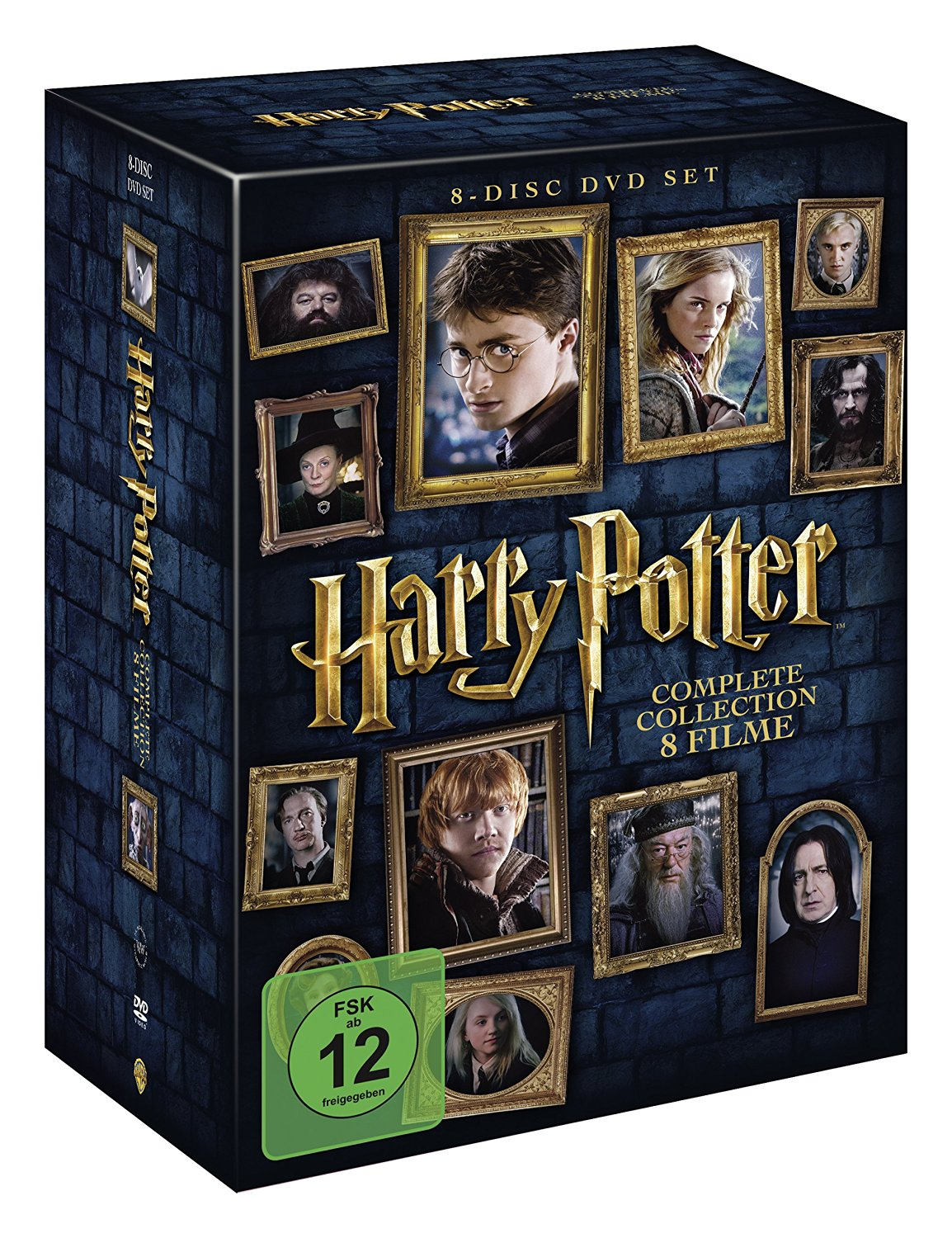 Harry Potter – The Complete Collection [8 DVDs]